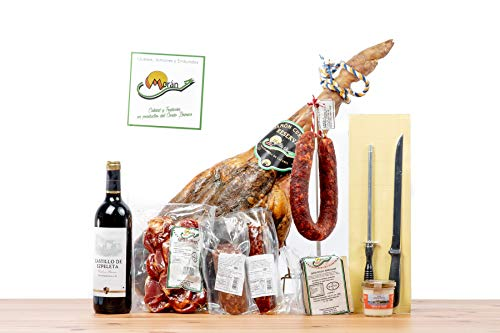 LOTE DE EMBUTIDOS // Degustación de embutidos ibéricos // Calidad y tradición // Peso aproximado del lote 9 kg // Moran C.B. // Envio 24 - 72h