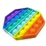 La Cosa Tiene Tela Fidget Toy, Juguete antiestres Autismo para niños y Adultos. Push Pop Bubble Sensory Toy Relajante.