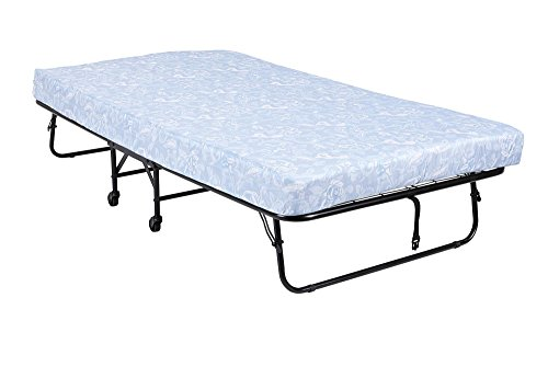 """DHP Folding Metal Guest Bed with 5"""" Mattress"""