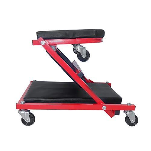Einfeben 2-in-1 Rollbrett Montagerollbrett für Werkstattliege Montageliege mit 360° Rollen bis 150 kg
