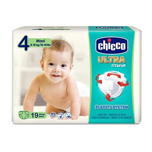 Chicco Ultrasoft Maxi S.4 (8-18kg) 19 pcs