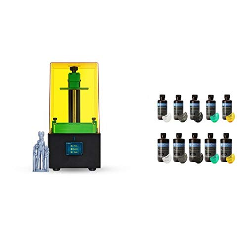 New Photon-Zero 3D Printer SLA LCD Printer Quick Slice Resin Plus Size Impresora 3d Drucker Impressora shipping from UK (Color : Photon ZeroAdd2L)