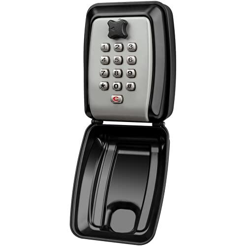 Faneam Groß Schlüsseltresor Mit Zahlencode Aussen Schlüsselsafe Wandmontage Schlüsseltresor Schlüsselkasten Mit Zahlencode Wasserdichter Schlüsselbox Schlüsselsafe Außen Für Zuhause, Büros,Garagen