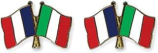 italie Yantec freundschaftspin broche /épingle doppelflaggenpin france