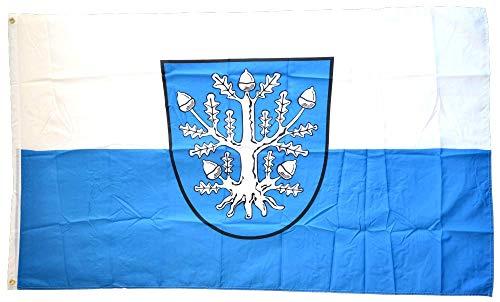 Flaggenfritze® Flagge/Fahne Deutschland Stadt Offenbach am Main - 90 x 150 cm
