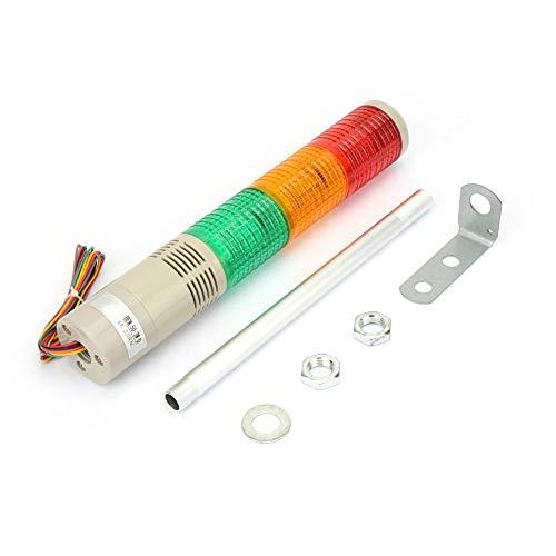 Weikeya PRECAUCIÓN Light, LUZ DE LUZ EXTENDIENTE Servido Servidor DE LUZ con Material Premium DE PLÁSTICO Y Aluminio