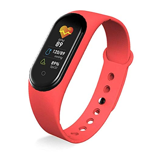 Angelay-Tian Smart Watch, 1.3'Smartwatch de Pantalla táctil, rastreadores de Fitness con Monitor de frecuencia cardíaca, rastreadores de Actividad Impermeable, Reloj Inteligente para Hombres Mujeres