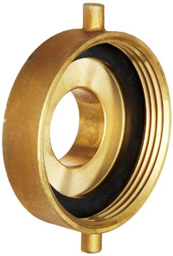 Moon 369-4522521 Brass Fire Hose Adapter, Pin Lug, 4-1/2