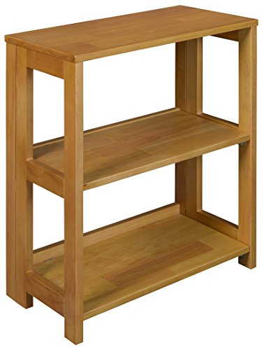 Regency Flip Flop Bookcase, 28 x 22-inches, Medium Oak