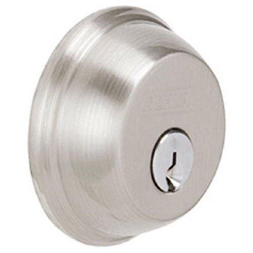 SCHLAGE Lock CO B62N619 Double Cylinder Deadbolt, Nickel