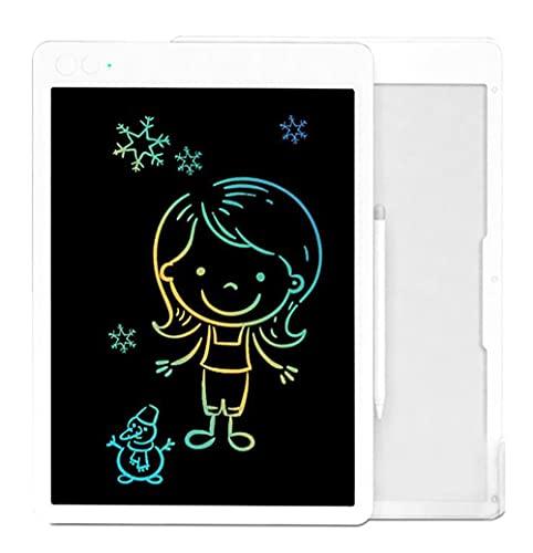 Xyfw Tablero De Escritura LCD 16 `` 13,5 '' Pulgadas Tablero Gráfico De Dibujo Electrónico Colorido Tableta Digital Tablero De Escritura A Mano para Regalo De Niños,16