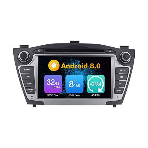 Android 10 Stereo DVD Ram 4G 64G Rom autoradio GPS Navigazione Radio PerHyundai IX35 (2010-2013)