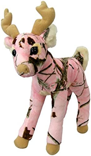 Rosa Camo Realtree Deer 14 Inch Animal Camouflage Stuffed Animal Soft Plush by Rosa Deer