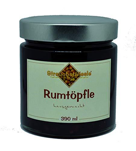Streuobstwiesle Rumtopf - 390 ml Erlesene Früchte in echtem Rum (54{4b8cc10c7aa0fab87849c888bd5e91f9b24f2dd2c37a5e71dcc93c1b57ea853e})