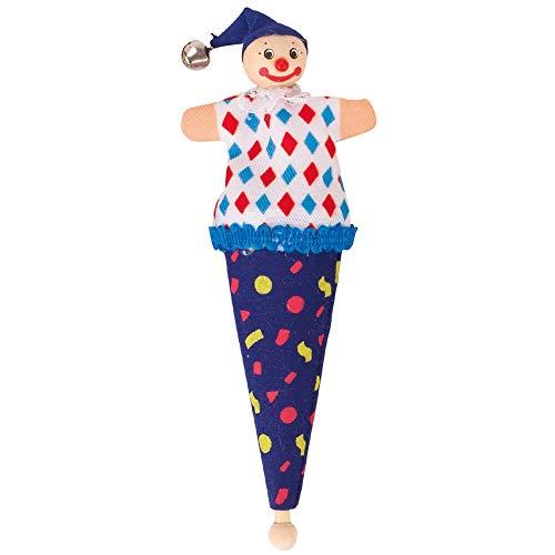 Goki Kapserl - Mini marioneta, color azul oscuro