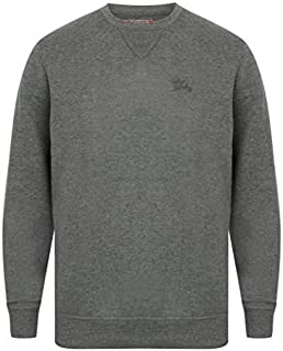 Tokyo Laundry Mens Sweatshirts Pullover Top Crew Neck Casual Winter Fashion New