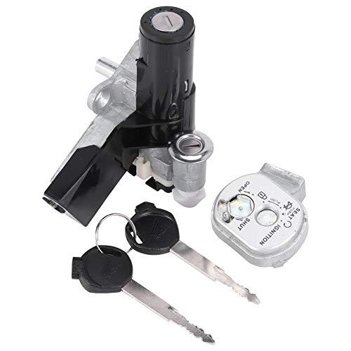 ACAMPTAR Cerradura del Interruptor de Encendido de la Motocicleta Adecuado para DIO Z4 AF55 AF56 AF57 AF58 AF63