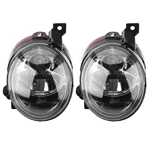 Luz antiniebla-1 par de luces antiniebla del parachoques delantero del coche para MK5 CADDY