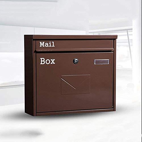 Brievenbus Koffie Gegalvaniseerd Vel Brievenbus Postvak Wandmontage Krant Tijdschrift Brievenbus Postvak Lock Postbus Beveiliging mailbox