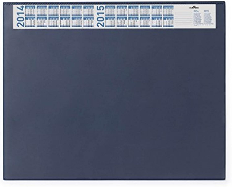Durable 7204 Schreibunterlage mit Vollsichtplatte und Jahreskalender, 650 x 520 mm (blau, 3er Aktionspack) B014FCIRJY   | Shopping Online