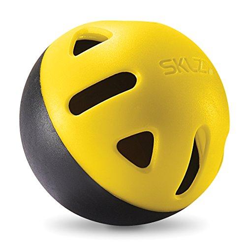 SKLZ Impact Limited-Flight Practice Baseball, Softball, and Mini Balls (Baseballs, 12 Pack)