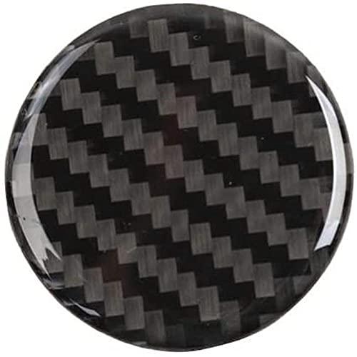 Ajuste para j-eep Grand Cherokee 2014-2019 Cubierta Interior de Fibra de Carbono Control Central 4wd Interruptor botón Cubierta Pegatina Trim-as_pic
