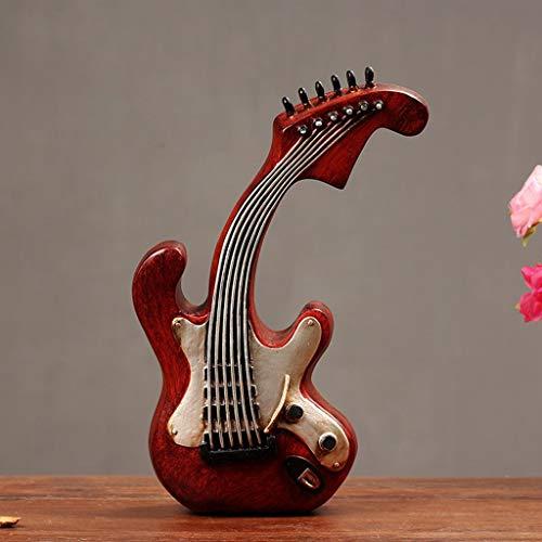 LIAOLEI10 sculptuur Vintage Viool Piggy Bank Beelden Animal Figurine Hars Art Woonkamer Koffie Tafel Decoratie Gift
