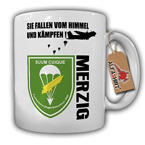 Tasse Fallschirmjägerbataillon 262 FschJgBtl Merzig BW Wappen Abzeichen #17773