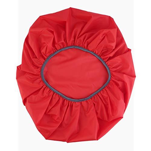 Nylon Rouge Housse de Protection Anti-Pluie pour Sac à Dos de Camping, Sac à Dos étanche à l'eau et à la poussière, Ultra-léger et réglable - Rouge