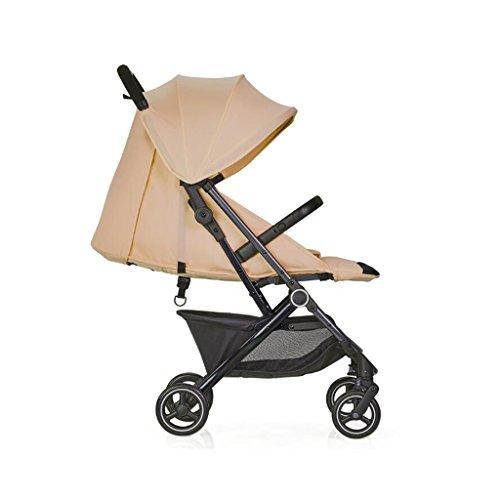 A&D wandelwagen kan zitten horizontale paraplu draagbare vouwen pasgeboren vier seizoenen universele reizen zonnescherm een hand vouwen kleine optionele 3 kleuren