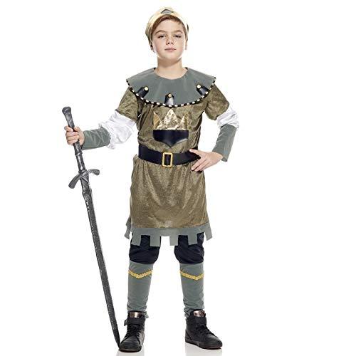 S cu260223/128 kostuum kind middeleeuwse prins, 128 cm