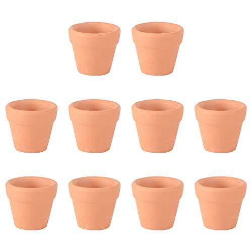 PRETYZOOM 12 Pièces 3x3 cm Grand Argile Pot Pots Succulentes Plantes Succulentes Cactus Petit Mini en Terre Cuite Graines pour L'usine Supplémentaire Planteur-Argile Céramique Succulentes