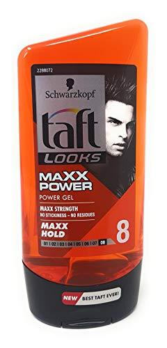 TAFT Se ve MAXX POWER Ultimate gel MAXX Hold.
