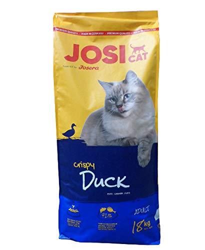 Josera JosiCat Katzenfutter, Ente & Fisch, 1-er Pack (1 x 18 kg)
