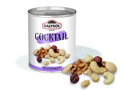 Frutos secos en lata Salysol Gourmet - Cóctel de frutos secos 50 g (PACK 10 UNIDADES)