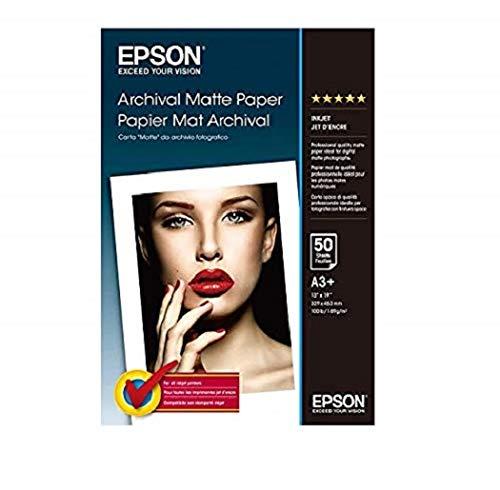 Epson Archival (C13S041340) - papel mate - super b (330 x 483 mm) - 192 g / m2 - 50 piezas