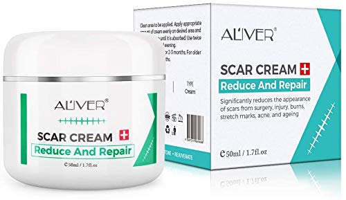 Scar Removal Cream for New Scars, Effective Stretch Mark Removal Natural...