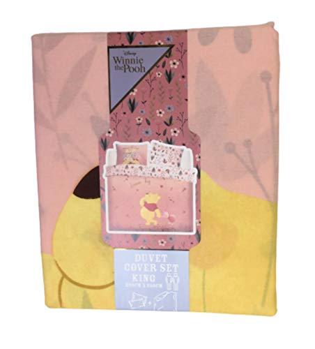 Disney Winnie The Pooh Duvet Cover Set Reversible Size - Double/King (King)