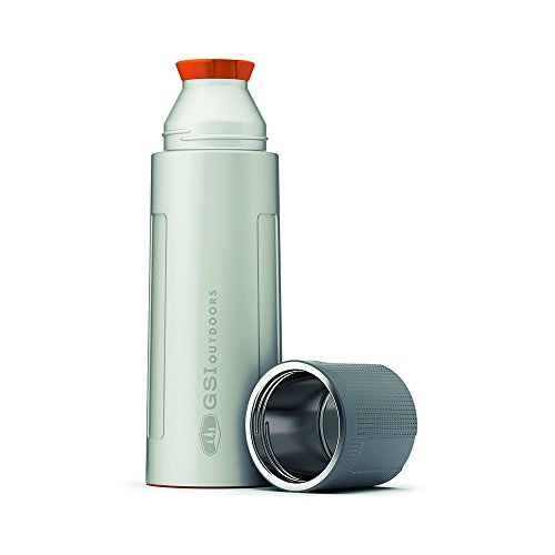 GSI Outdoors 67460 thermosfles, zilver, 1 liter