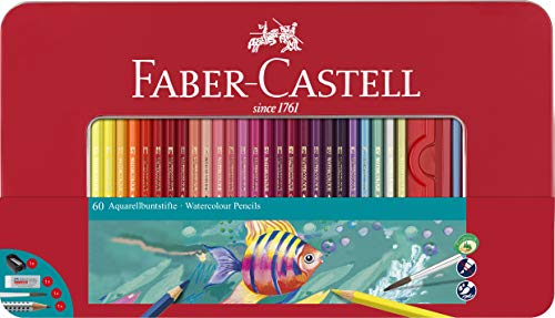 Faber-Castell 115964 Multicolor 60pieza(s) laápiz de color - Lápiz de color (60 pieza(s), Multicolor)