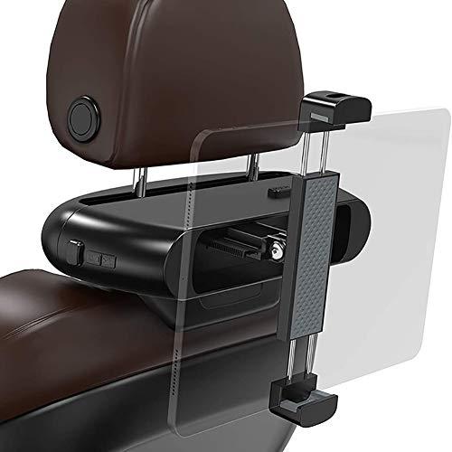 XER Car Tablet Holder, Car Headrest Mount, Universal 360 Rotating Car Rear Telescopic Bracket For All 4~11' Tablets