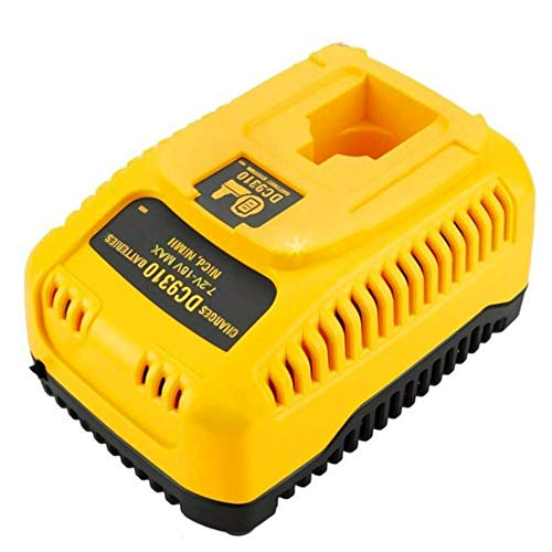 7.2V-18V Fast Battery Charger for Dewalt - Upgraded NiMh/NiCd DC9310 Replacement Battery Charger Compatible with Dewalt XRP DC9096 DW9099 DC9098 DC9071 DW9094 DW9062 + European Hand Cream + e-Book