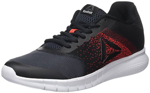 Reebok Instalite Run, Zapatillas de Running Hombre, Gris (Coal/Primal Red/White/Black), 44 EU