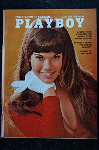 PLAYBOY US 1970 03 MARCH INTERVIEW RAY CHARLES BARBI BENTON CHRISTINE KOREN BARBI BENTON PIN-UP VARGAS