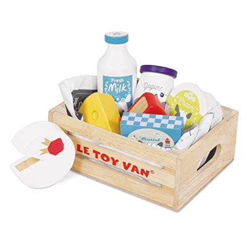 Le Toy Van- Honeybake Jouets en Bois, TV185, Œufs et Produits laitiers