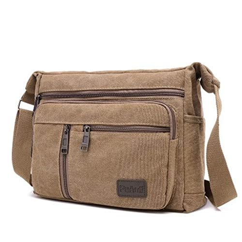 Fantastic Deal! Lovela Portable Electrician Crossbody Bag Thick Canvas Single Shoulder Kit Multi-Fun...