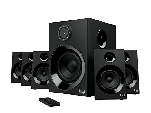 Z606 5.1 Surround Sound Speaker System with Bluetooth (Renewed)