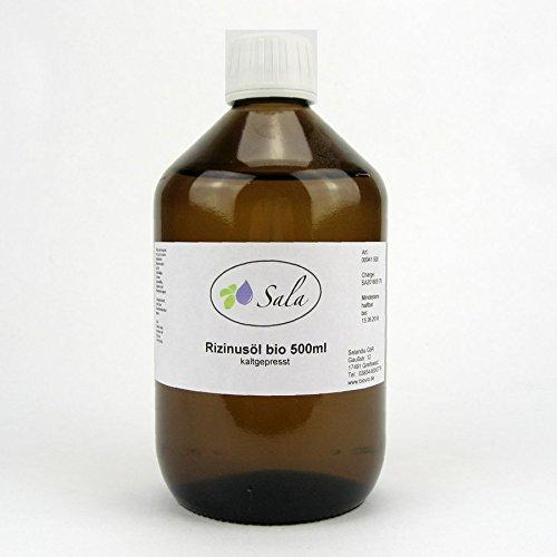 Sala Rizinusöl kaltgepresst bio 500 ml