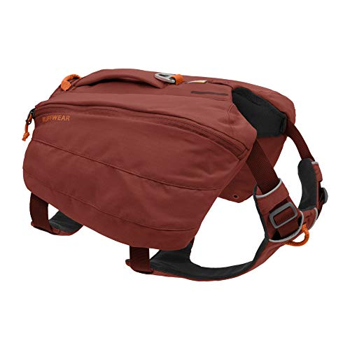 RUFFWEAR, Front Range Dog Day Pack, Backpack with Handle for Hikes & Day Trips, Red Clay, Large/X-Large