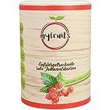 myfruits rote Johannisbeeren - gefriergetrocknet - ohne Zusätze, zu 100% aus Johannisbeeren, Zutat für Müsli oder Porridge (1er Pack)